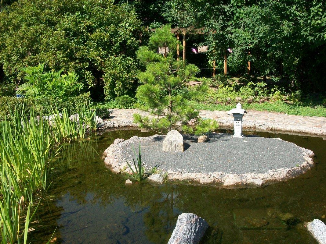 Японский уголок Ботанического сада. - Виктор Елисеев