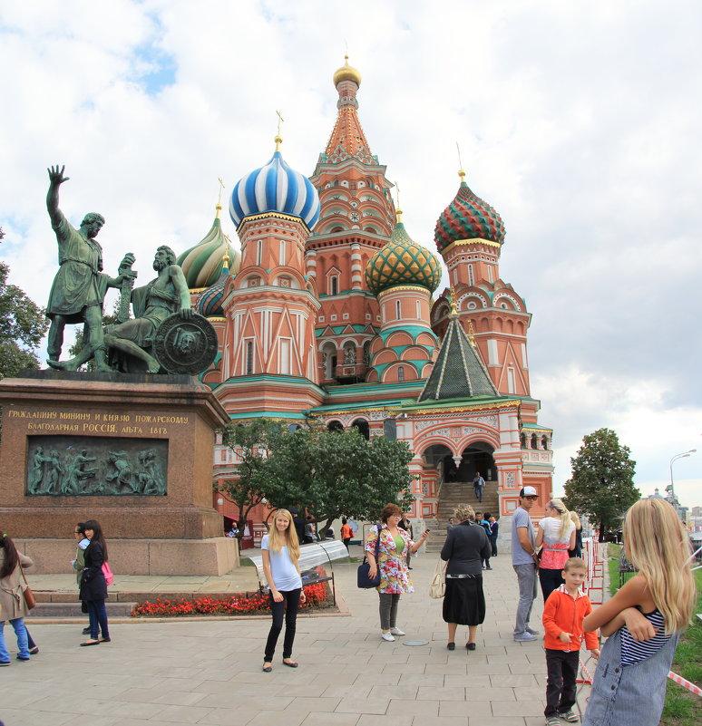 Храм Василия Блаженного. - Надюша
