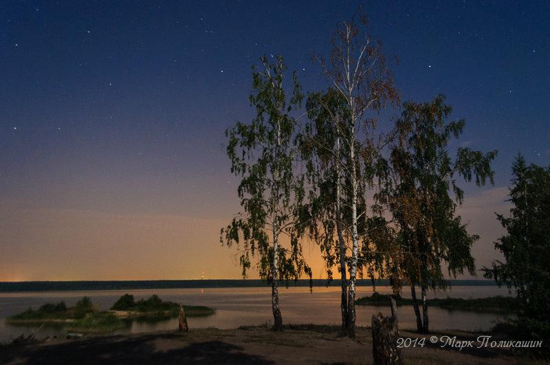 На ночном берегу - Марк Поликашин