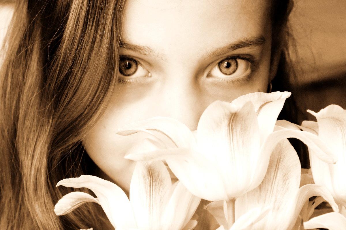 Эти глаза.... - Марина