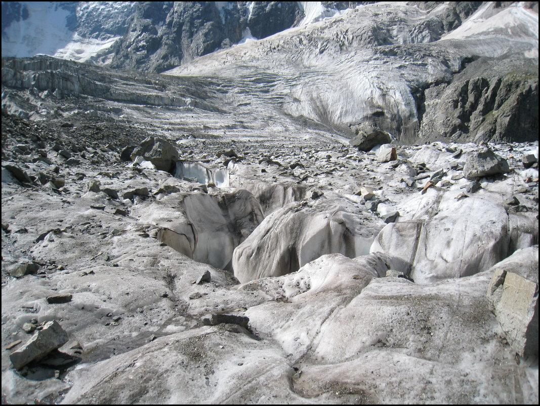 Ледник Мижирги. - Ирина Нафаня