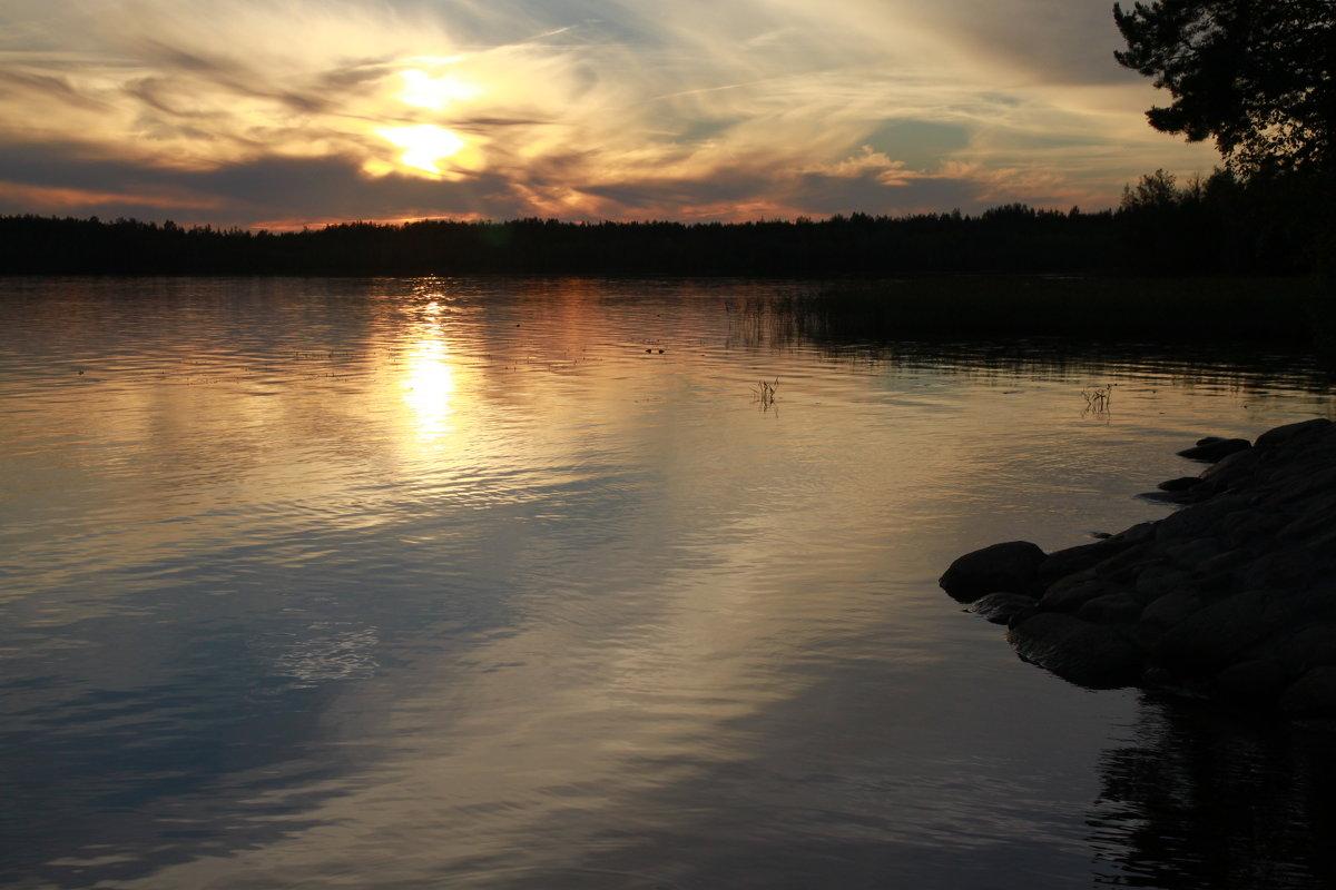 Закат над озером - Сергей *