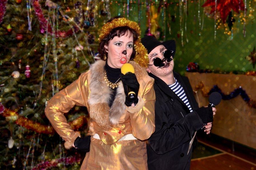Кот базилио и лиса алиса новый год