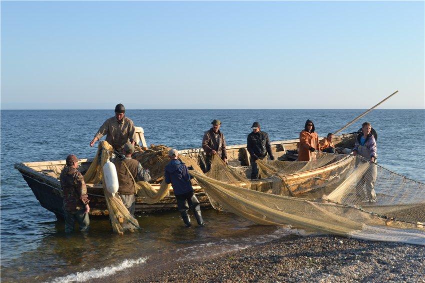 промысел рыбалка