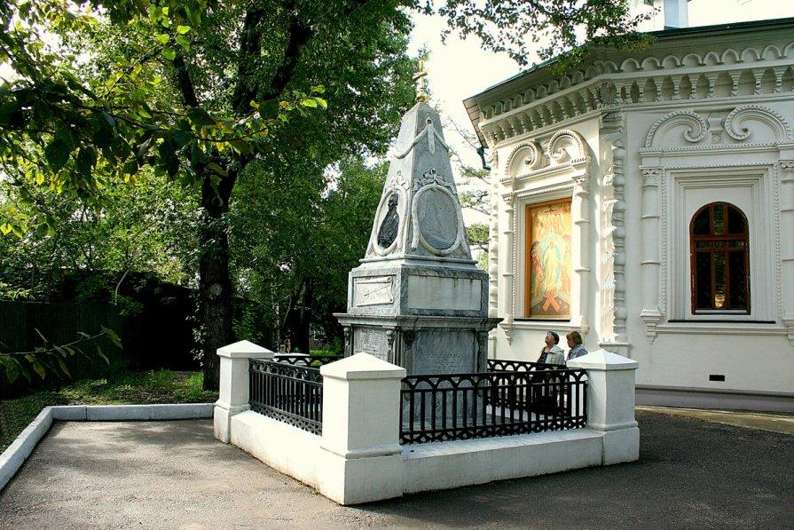 Памятник Шелехову - Иван Гиляшев