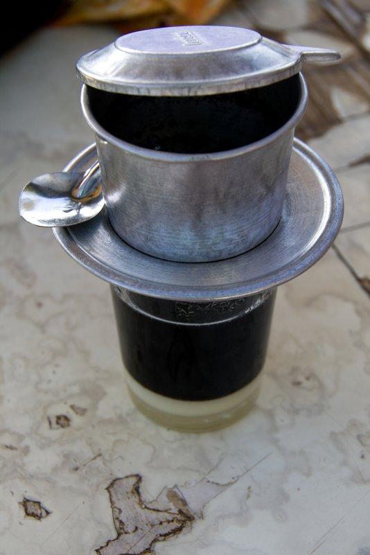 Горячий вьетнамский кофе - Ekaterina Shchurina