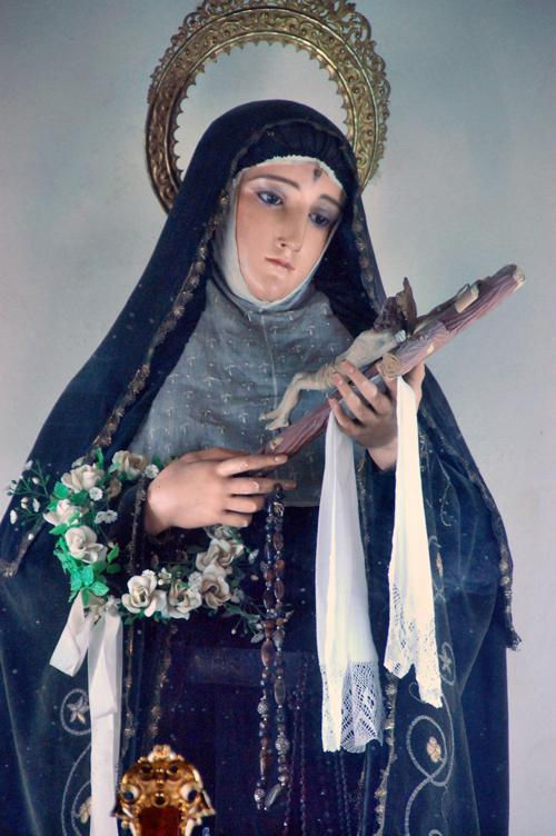 Фигурка святой - Марина Витушкина
