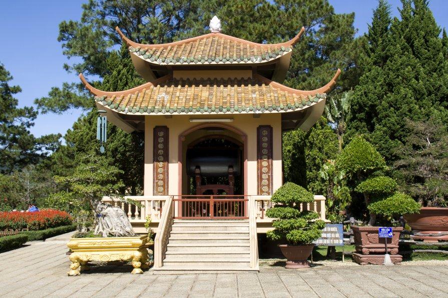 Буддийский храм - Ekaterina Shchurina