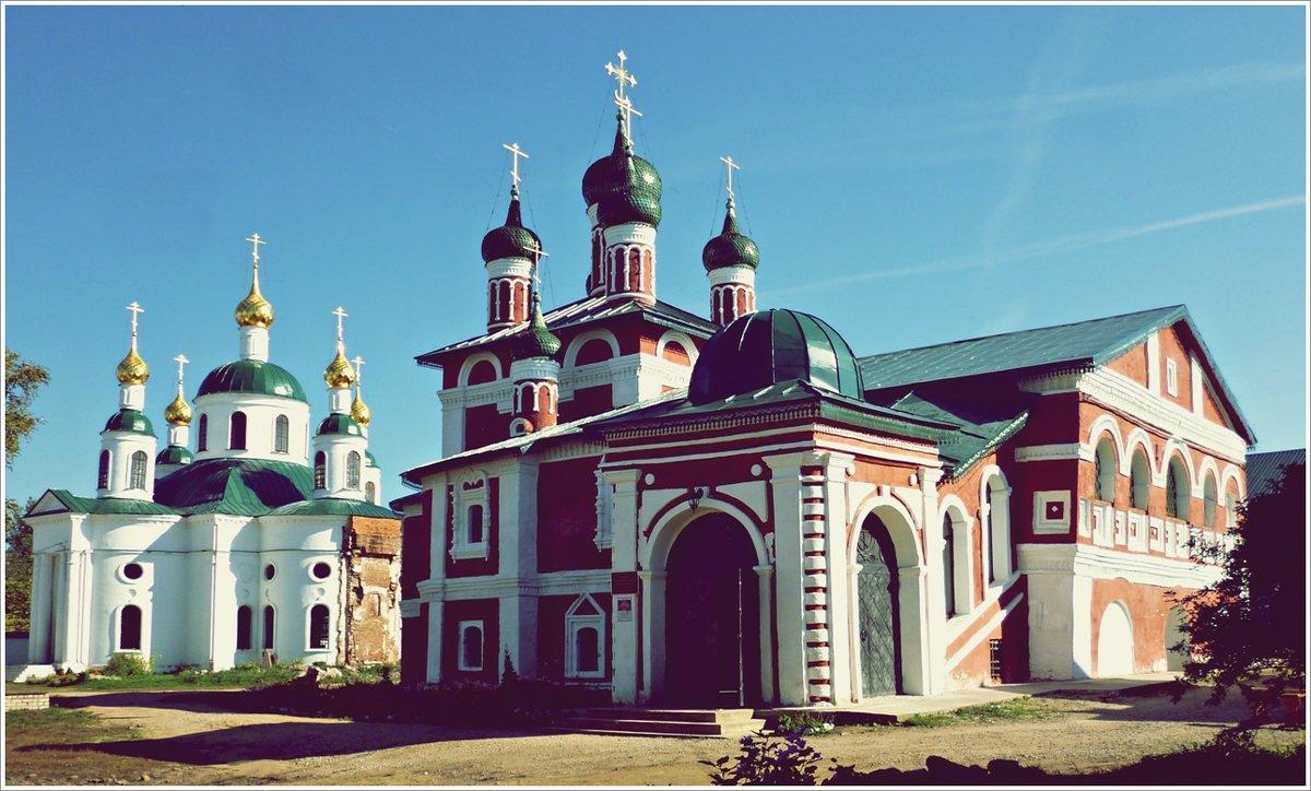 Углич достопримечательности: Богоявленский монастырь в Угличе