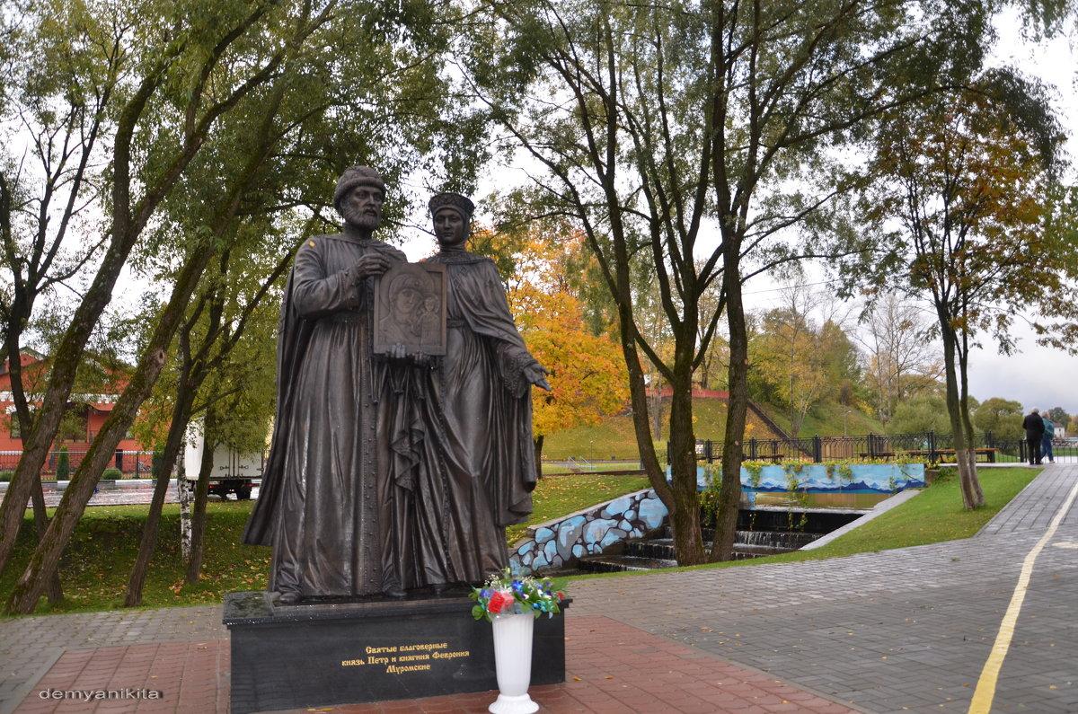 Памятник Петру и Февронии Муромским - demyanikita