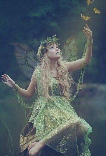 Лесная фея :: Надежда Шибина - Социальная сеть ФотоКто