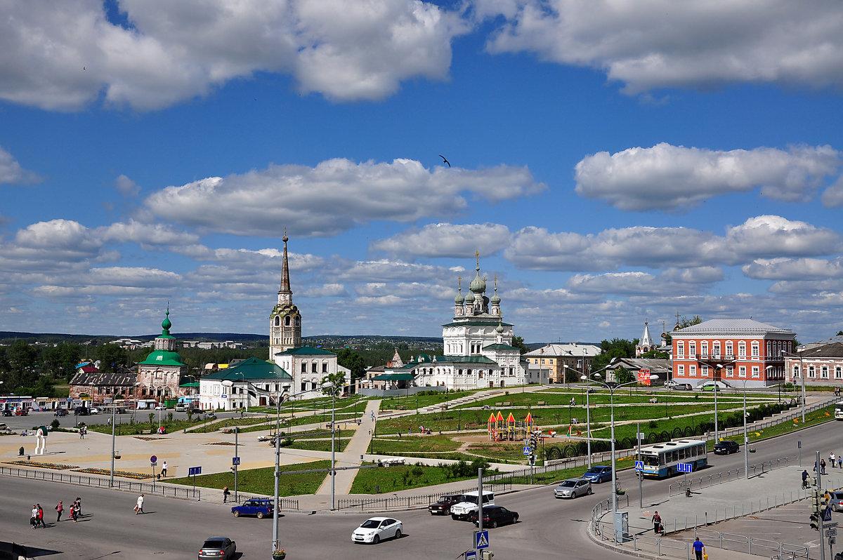 Соликамск. Соборная площадь. - Елена