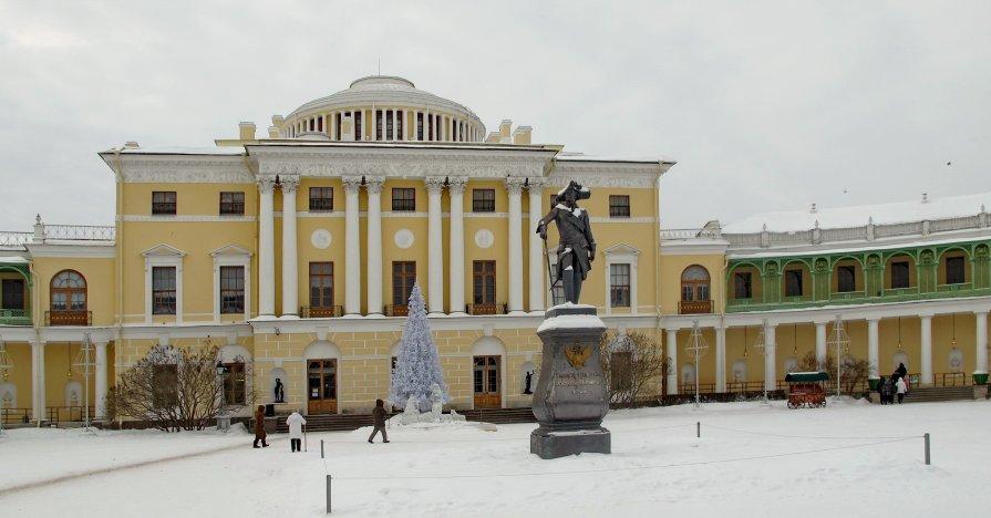 Зима в Паваловске - Олег Попков