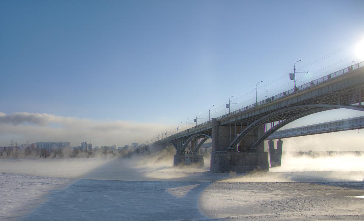 мост через р.Обь - дим димин