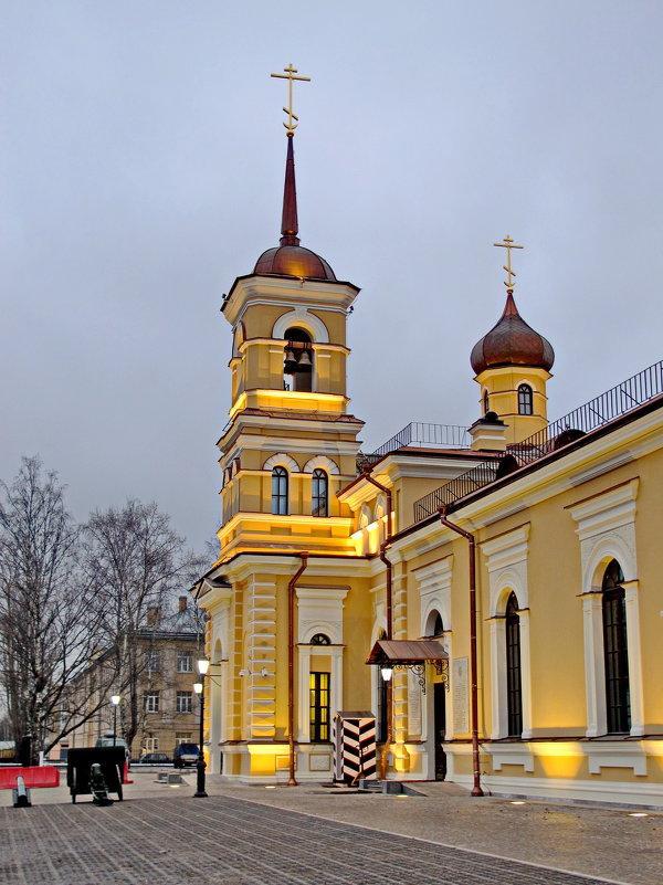 Церковь преподобного Сергия Радонежского в Царском Селе - Олег Попков