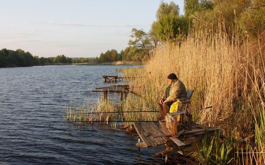 фото старого рыбака