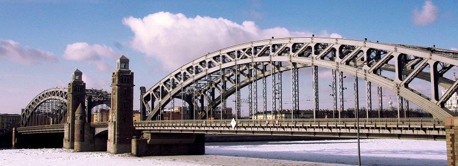 Большеохтинский мост - Аня Разумовская