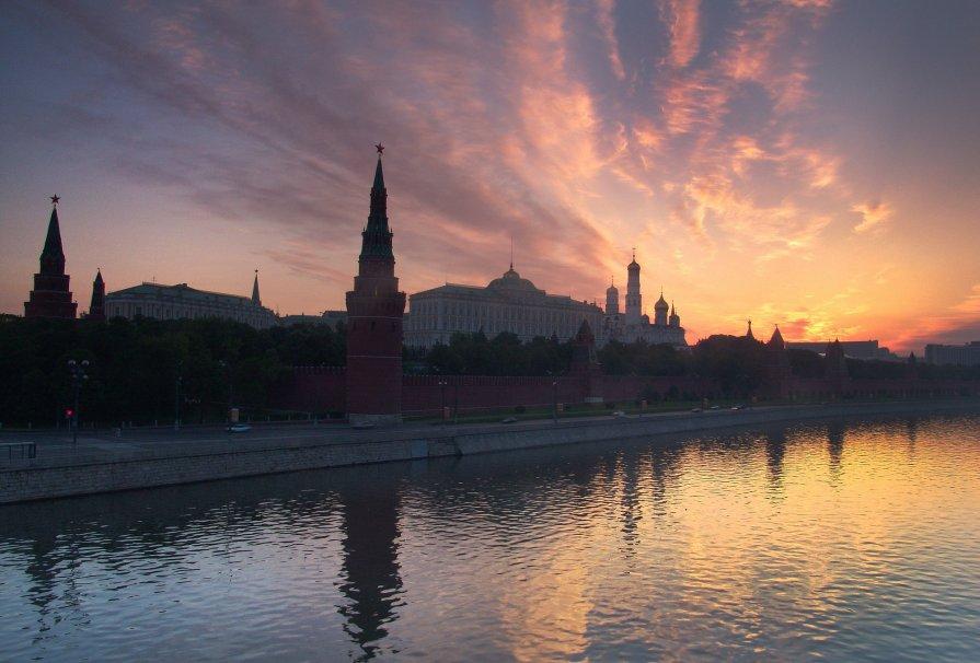 кремль рассвет - Константин Кокошкин