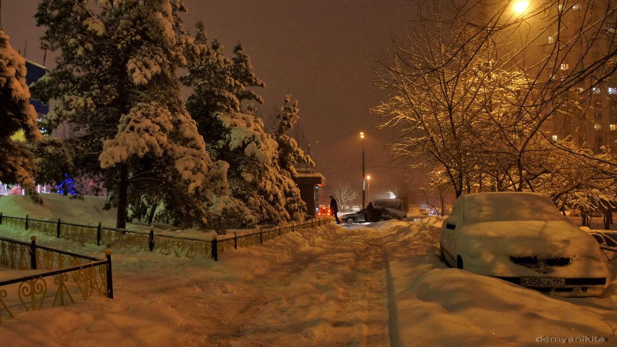 Снежный вечер - demyanikita