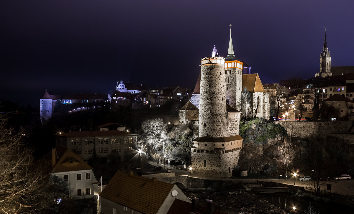 Замок в Бауцене - Евгенией Питомец