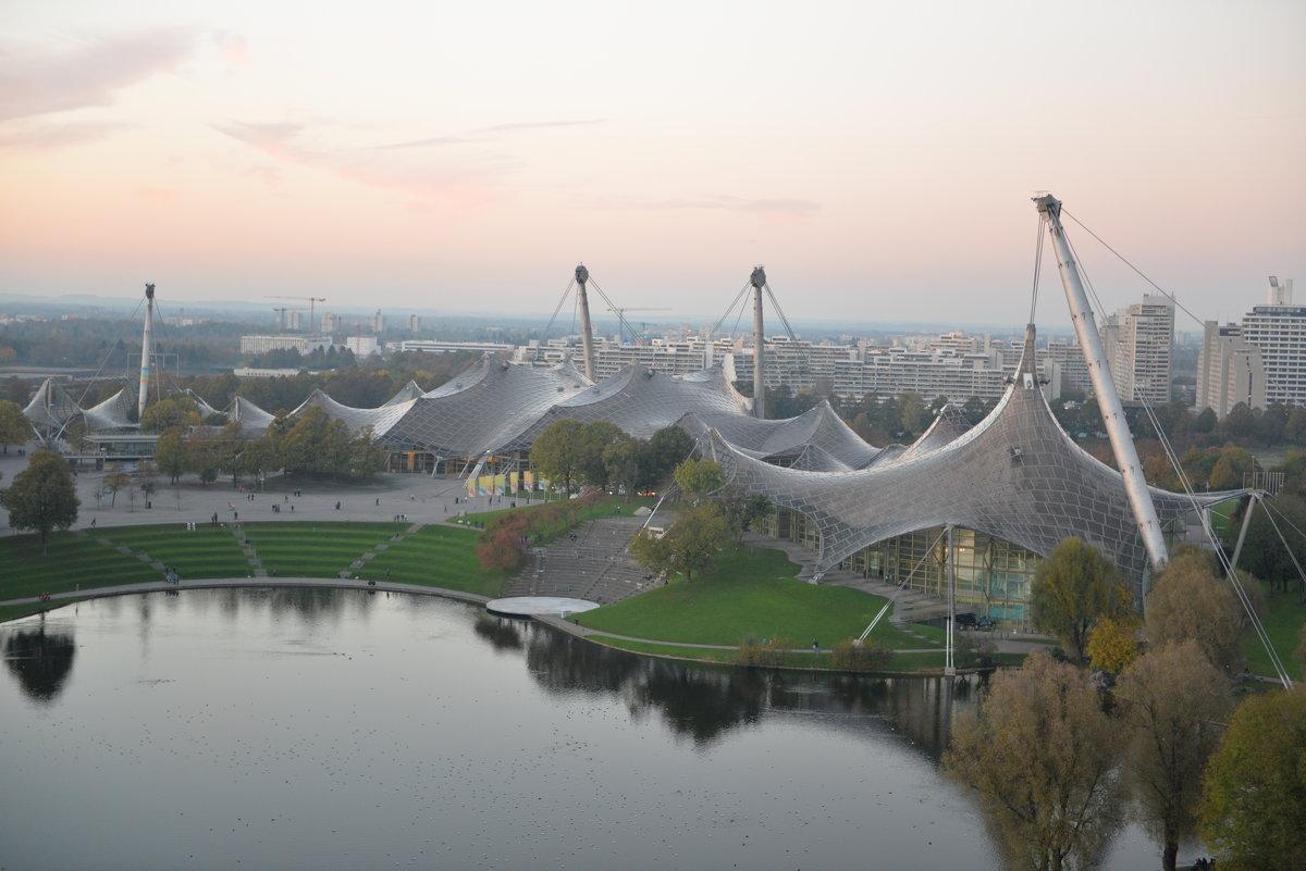 Мюнхен.Олимпийский парк - Елена Данилина