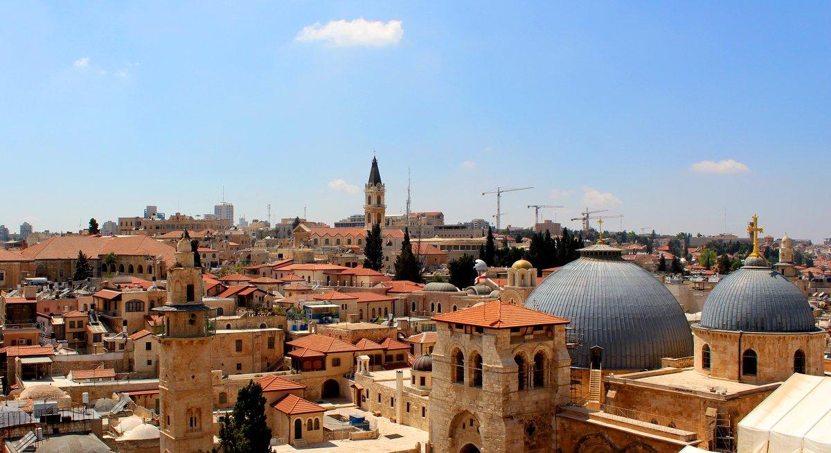 Облако над Иерусалимом - Александра