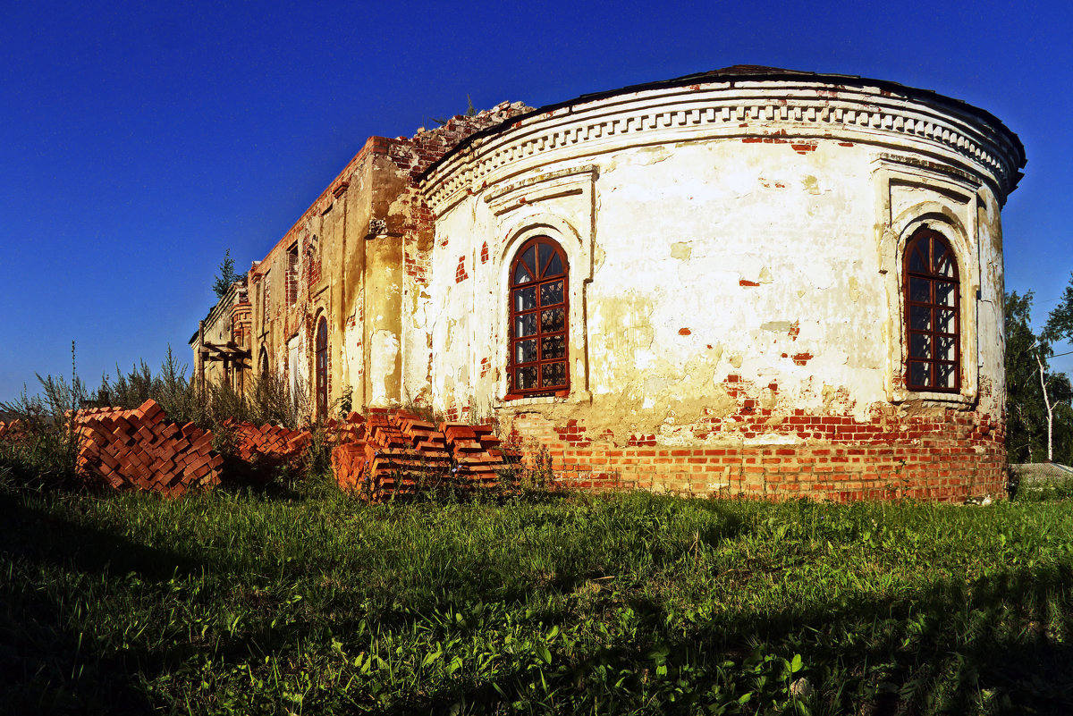 Восстановление храма - Алексей Дмитриев