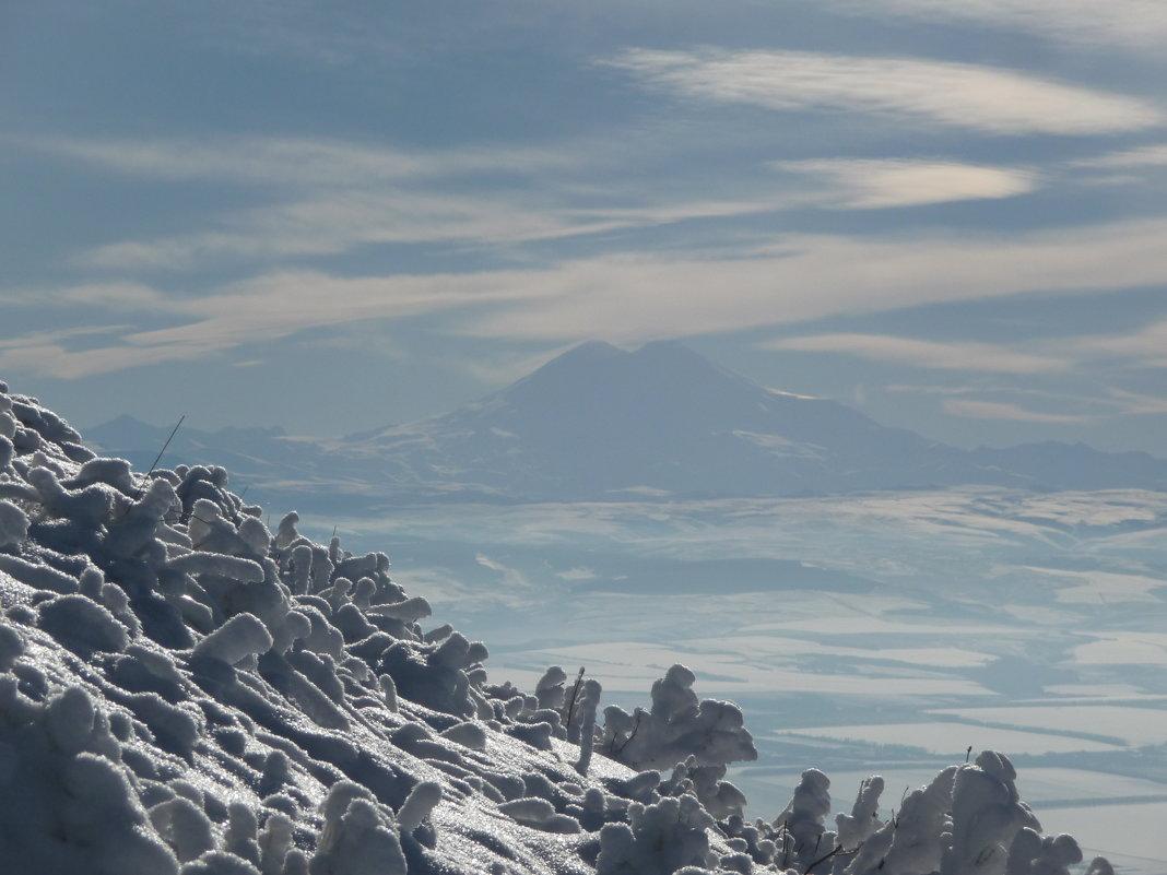 Эльбрус зимой - Михаил Мордовин