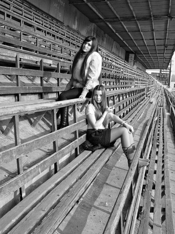 На заброшенном стадионе - Dasha Swarovski