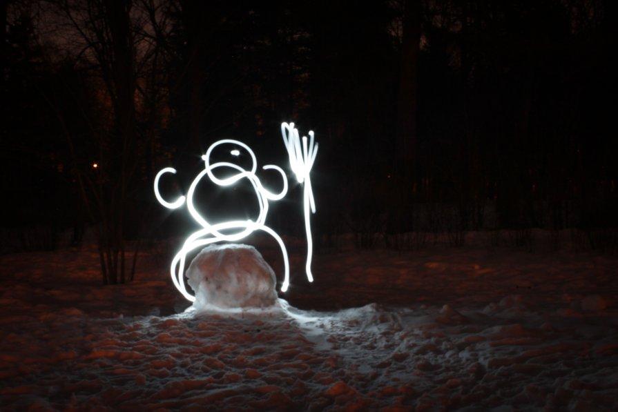 Снеговик - Alena Ldinka