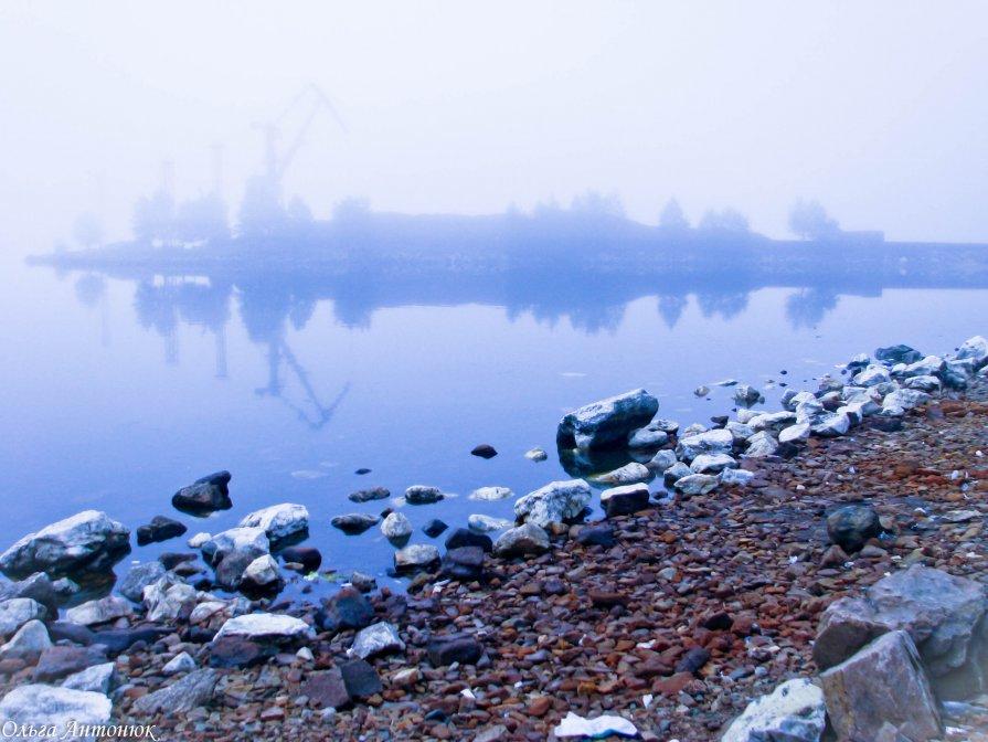 Туман. Байкал. - Ольга Антонюк