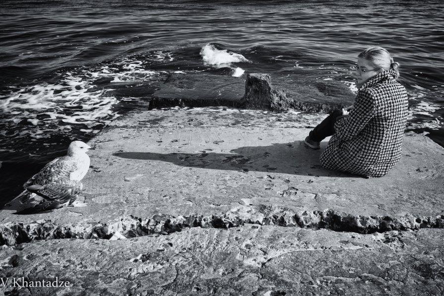Девочка и чайка - Вахтанг Хантадзе