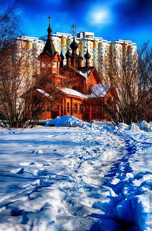 Храм-часовня - Антон Богданов