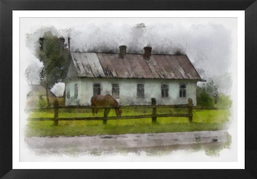 Из сельского этюдника - Владимир ЯЩУК