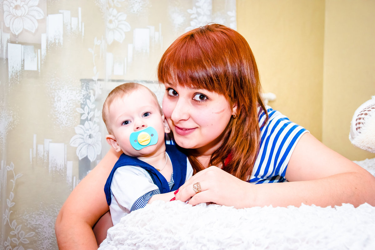 малыш и мама - Ольга Кошевая
