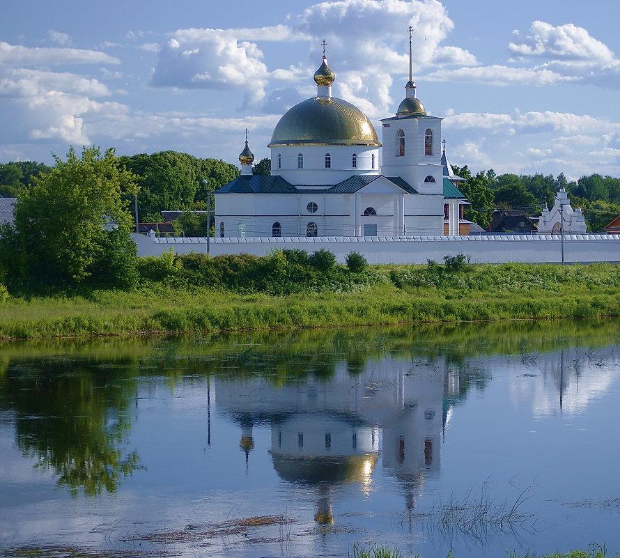 г.Остров, Спасо-Казанский Симанский женский монастырь на реке Великой - Инна *