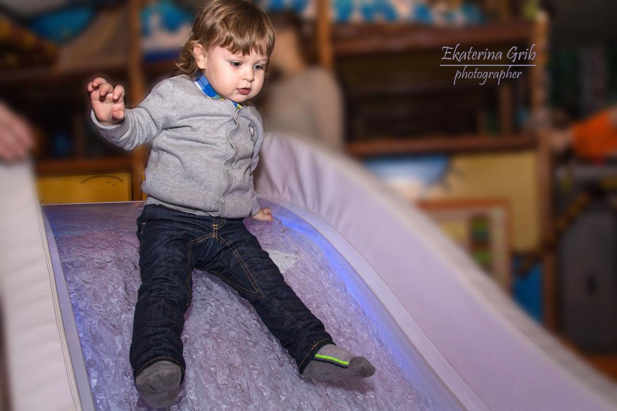 Репортаж в детском центре - Екатерина Гриб