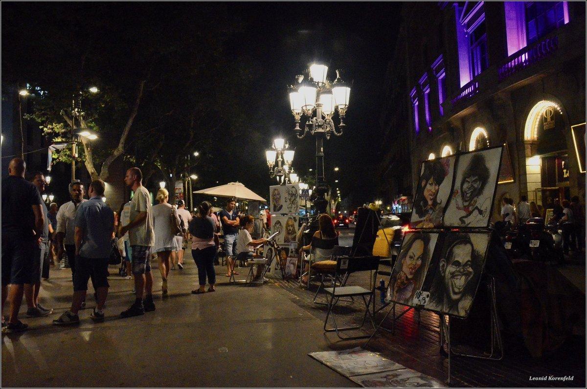 Барселонские картинки - Leonid Korenfeld