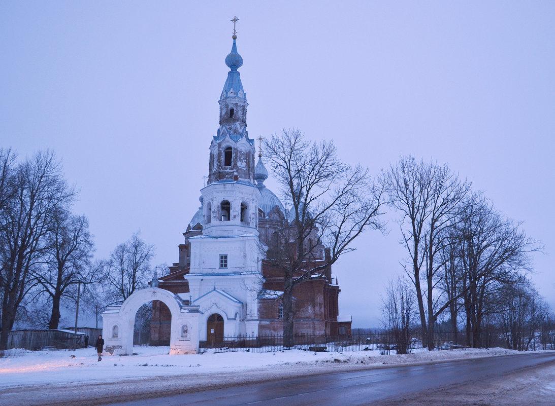 Старополье. Сланцевский р-он. Церковь Рождества Христова - Наталья Левина