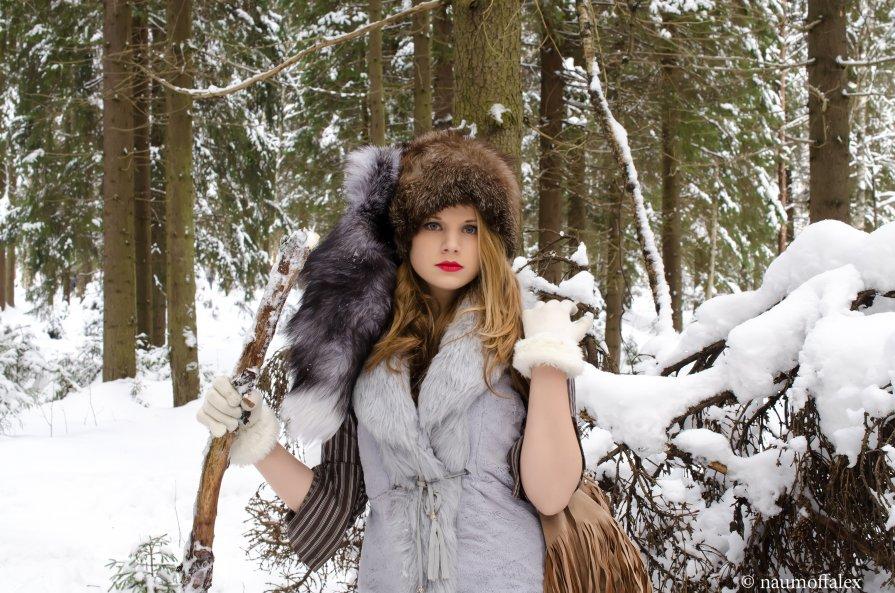 в зимнем лесу - alex naumoff