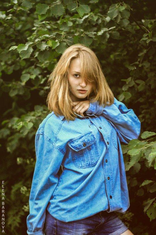 вечерняя летная прогулка - Елена Баранова