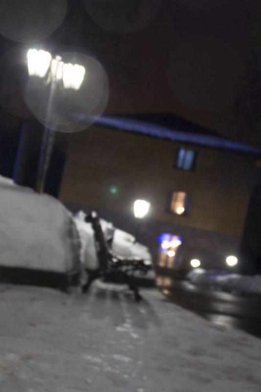Дождливый зимний вечер - Елена Герасимова