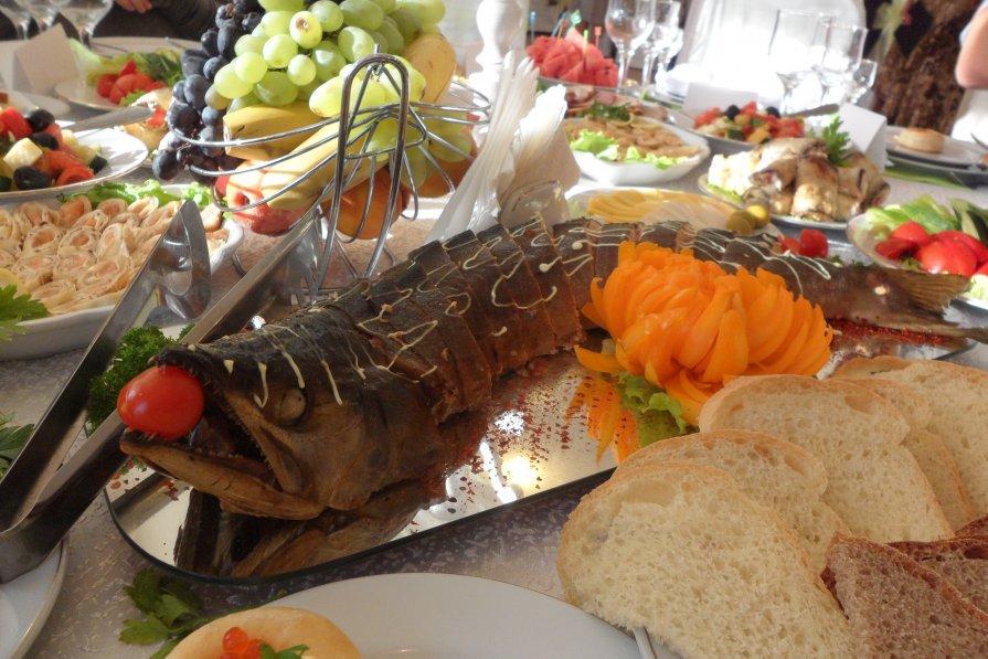 Вкусная рыбина - Роман Шплеханзидович