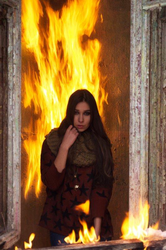 в огне - Виктория Шеметова