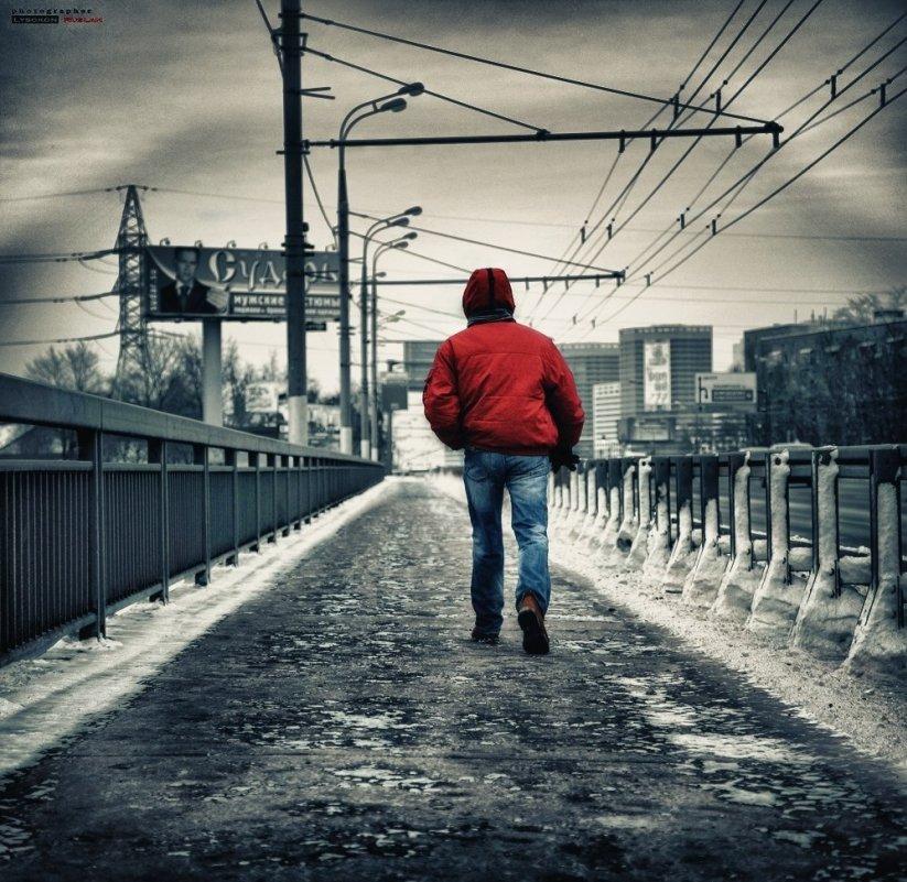 На мосту - Ruslan © Lysokon