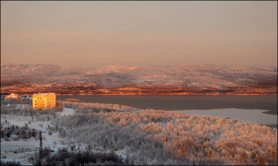 Мурманск, вид из окна - Александр Волков
