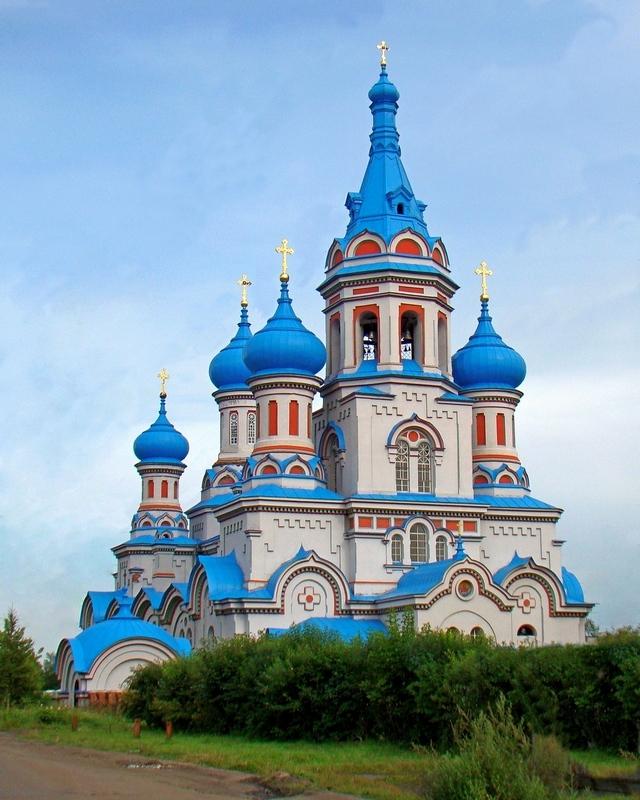 Князе-Владимирский монастырь в г. Иркутске. - Вадим Коржов