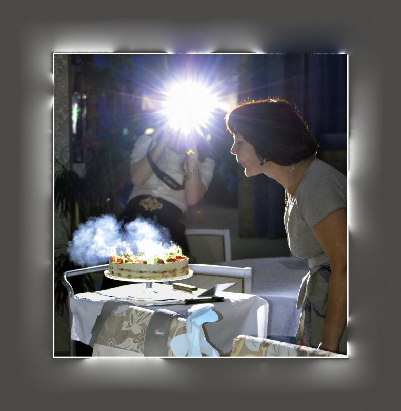 Праздничный торт, запах свечей - Павел Самарович