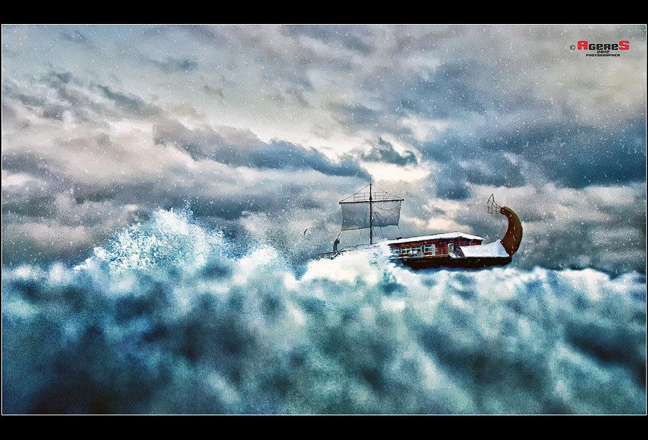 В зимний шторм - Сергей Радин