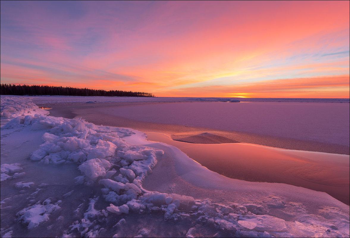 рыбалка финский залив южный берег